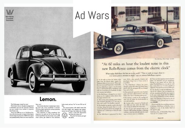 advertisement-writing-wars-rolls-royce-vs-volkswagen-wwc-2020